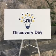 Discovery Day Sign